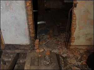 The basement of the Gammon House in Springfield, Ohio, was used by escaped slaves.