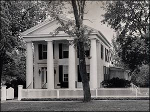 The Four Pillars house in Maumee was a stop along the Underground Railroad. Slaves hid in the basement until they were able to escale onto canal boats to Canada.