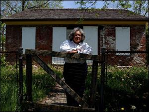 Betty Grimes is leading an effort to save the Gammon House in Springfield, Ohio.