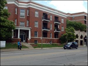 The Plaza Apartments, for low-income residents, is now under the auspices of the Catholic Diocese of Toledo.
