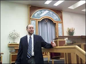 Rabbi Benjamin Samuels says Shaarel Tefilah, a synagogue in Newton, Mass., is a 'modern Orthodox' congregation.