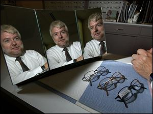 Optometrist James Hawke has had his eyecare business downtown for 20 years. He said he expects to see a gradual revitalization of the city and the customers that would provide.