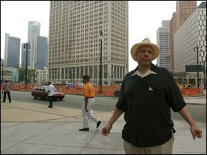 Author Walter Mosley says he enjoys being anonymous on the streets of cities such as Detroit, even when he's in town for a book signing.