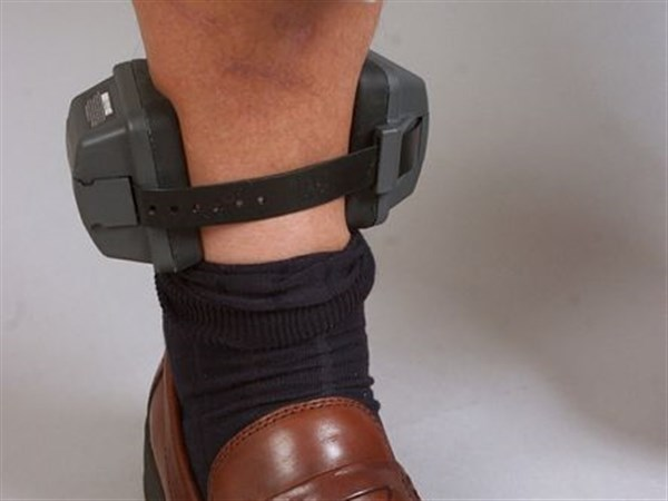 Ankle Bracelet Puts Clamp On Drinking