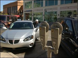 The Downtown Toledo Parking Authority spent $19,000 this summer to study metered street parking.