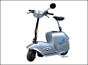 The scooter debuted in April.