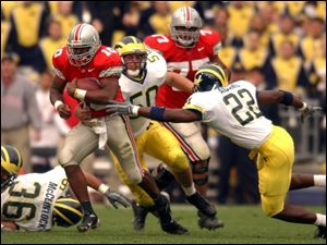 It was runs like this one by Ohio State quarterback Troy Smith that befuddled Michigan's defense all game long.