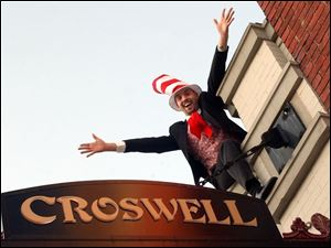 Damon Sloan stars in <i>Seussical</i> at the Croswell Opera House in Adrian, Mich.