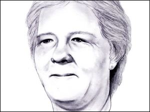 A sketch shows what Elizabeth Franks may look like today.