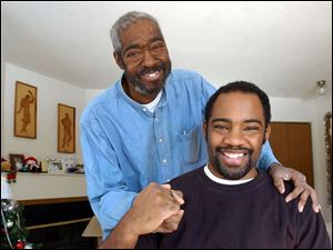 Robert Clark, Jr. , received the gift of life from his 30-year-old son, Robert Clark III: a donated kidney.