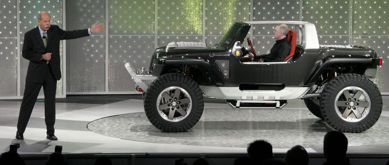 Jeep Concept Pushes Off Road Ability The Blade