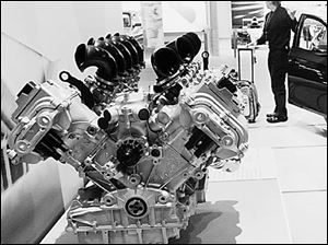 The 10-cylinder engine that will go into BMW's n