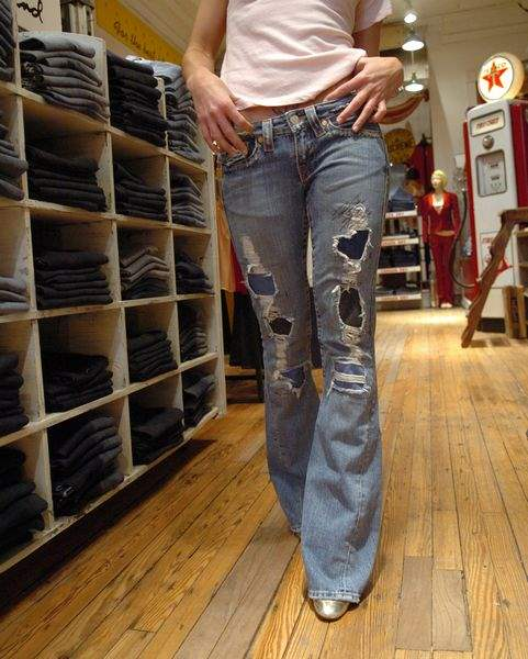 Hot-pants-Pricey-jeans-are-fashionable