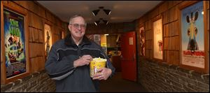 Owner Fred Rodabaugh says small theaters like his are part of the fabric of the community.