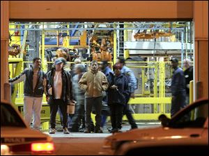 Several hundred workers were in the plant at the time of the shootings. All were sent home shortly after the plant was secured.