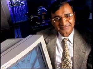 Bharat Bhushan, professor of mechanical engineering at Ohio State University, pioneered new techniques for measuring friction in microdevices and lubricating them, which could lead to innovations like self-cleaning glass.