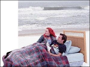 Kate Winslet and Jim Carrey