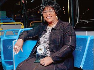 Mary Sumrow retired from TARTA after more than 36 years as a bus driver. Mrs. Sumrow was the last Community Traction driver still employed by the transit authority.