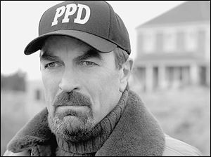 Tom Sellect plays Jesse Stone in the CBS movie Stone Cold, based on a book by Robert B. Parker.