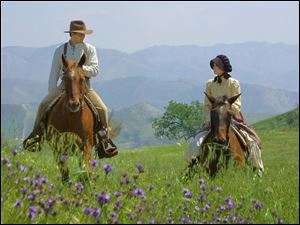 This is a scene from Love's Enduring Promise, a movie directed by Michael Landon, Jr. Landon