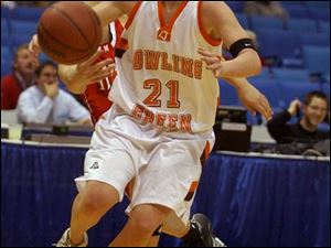 Bowling Green's Casey McDowell tied a MAC tournament record with seven 3-pointers.