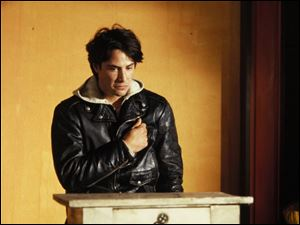 Keanu Reeves stars in My Own Private Idaho.