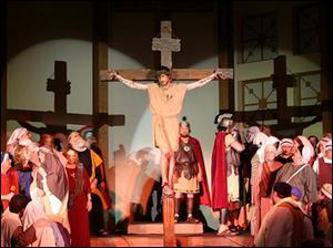 The Cleveland Performing Arts Ministries will put on its 24th performance in 28 years of the death and resurrection of Jesus at St. Rose Catholic Church in Perrysburg.