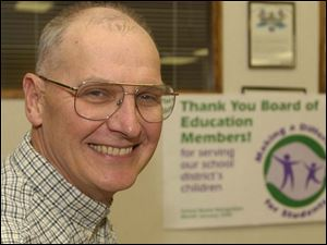 Kevin McQuade was honored this week during a retirement open house at Swanton High School.
