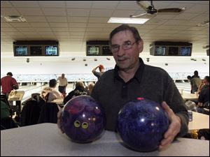 Stan Kruzel of West Toledo says he has several of Storm