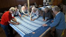Ottawa-Lake-church-women-create-quilts-from-remnants