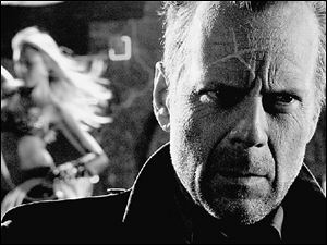 Bruce Willis and Jessica Alba are among the many big stars appearing in Sin City.