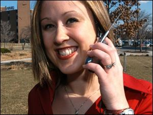 Kylee Broughton says customized ring tones are  caller ID for the hands-free age.
