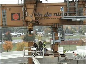 Faulty wiring in a control panel is blamed for allowing a cable