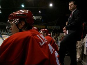 Toledo Storm assistant coach Tony MacAulay contributes to the club in a wide range of areas.