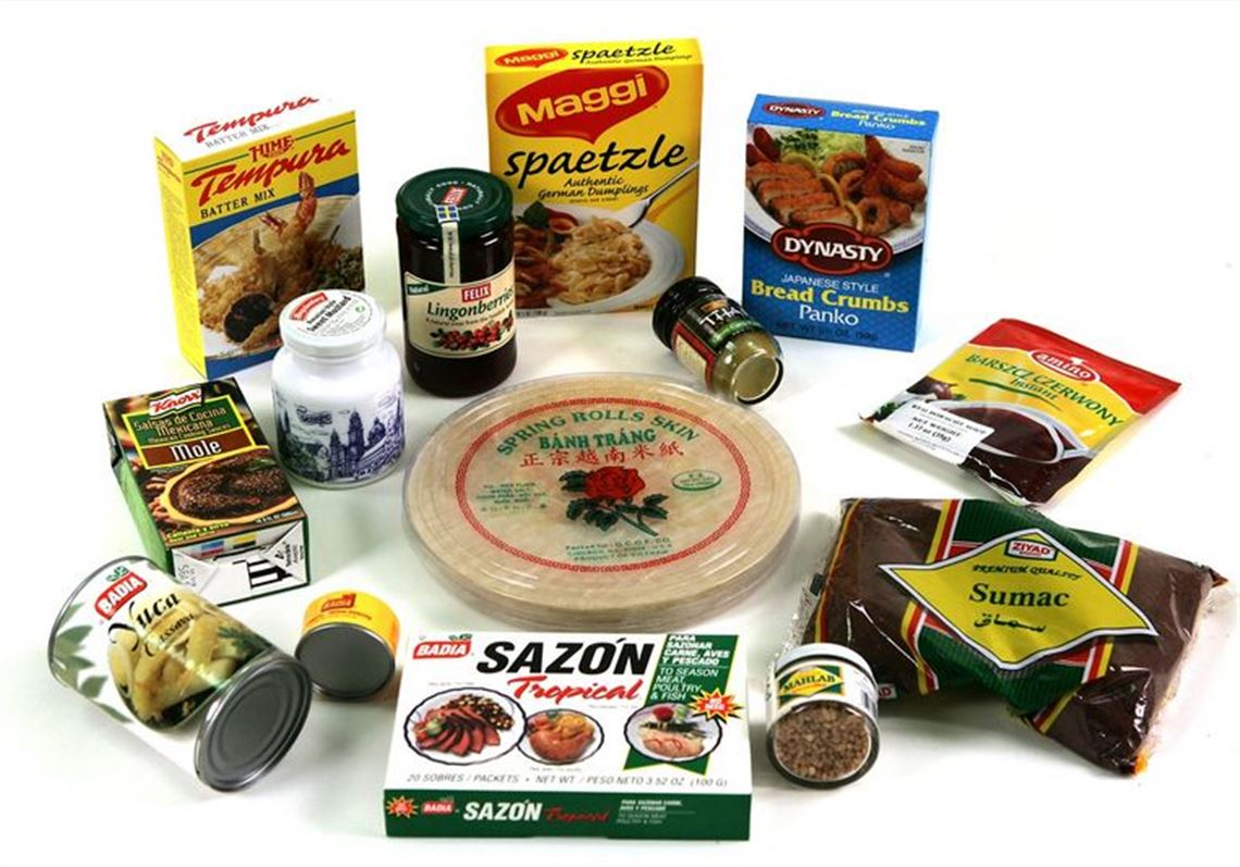 Supermarket aisles stock global foods and spices | Toledo Blade