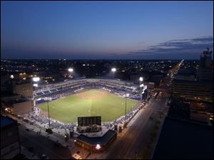 Fans have purchased more than 350,000 tickets to see the Mud Hens at Fifth Third Field downtown this season.