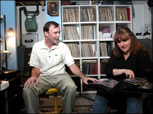 Music brought them together: Rick Spain and Jill Prill met in band class the summer they were 13; music is an interest they still share.