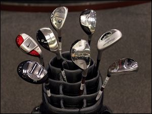 Just about every manufacturer is in the hybrid game. The clubs are part metal wood, part iron.