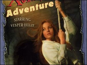 "FEA Dust jacket cover for ""The Xanadu Adventure,"" by Lloyd Alexander."