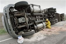 HIGHWAY-CLOSED-AFTER-SEMI-OVERTURNS
