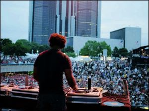 This year's festival  is called Fuse-In. It was formerly titled Movement, and in its beginning years, the event was widely known as the DEMF (Detroit Electronic Music Festival).
