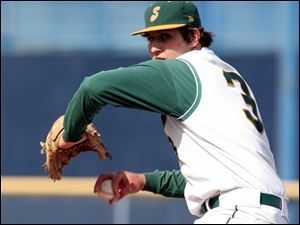 Start senior Aaron Stewart, a 6-2, 210-pound senior, is 10-0 on the mound with a 0.85 ERA and is batting .469.