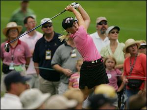 The country's top-ranked amateur, Morgan Pressel, has finished in the top 25 in four LPGA events so far this year.
