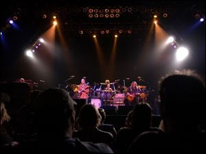 Many in the audience at the Allman Brothers Band concert earlier this month at Toledo's Stranahan Theater ordered CDs of the concert and picked them up after the show.