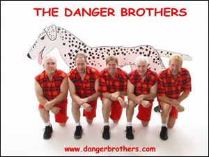 The Danger Brothers will be in concert at 8 p.m. tomorrow at Centennial Terrace, 5773 Centennial Rd., Sylvania. Tickets are $25 in advance from 419-241-2600 or $30 at the door. Information: 419-882-1500.