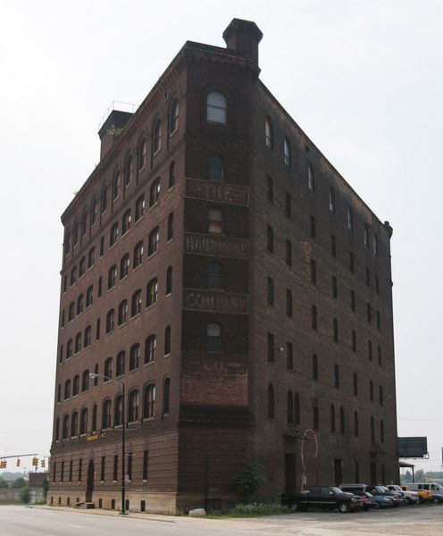Triangle Building Considered As Site For New Loft