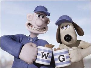 Wallace is the human inventor, and Gromit is his fretful pooch.