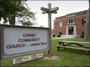 The pastor of Christ Community Church wanted to renovate part of the building to shelter evacuees. Rezoning was rejected.