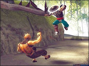 Shaolin takes Kombat fans out of the 2-D head-to-head fight and into three dimensional, highly interactive battlefields and arenas.