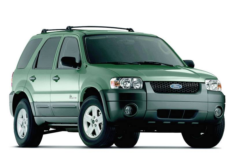 Ford Escape Colors >> 2006 Ford Escape Hybrid - The Blade